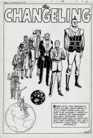 Tales of Suspense #23 p 1 SPLASH (Large Art) 1961 Comic Art