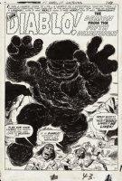 Tales of Suspense #9 p 1 SPLASH (Large Art) 1960  Comic Art
