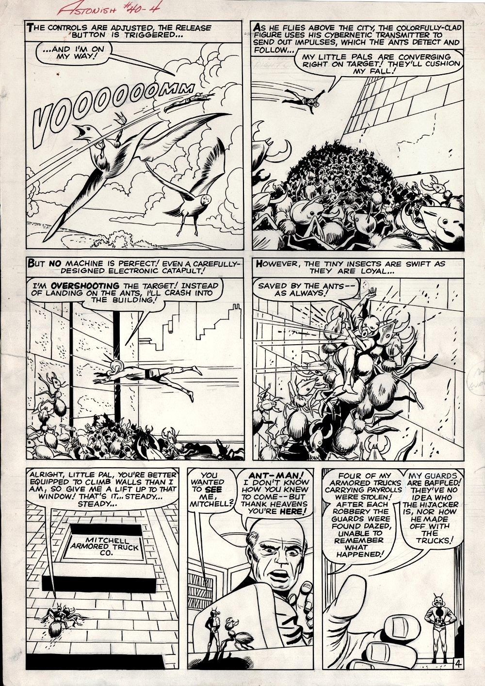 Tales to Astonish #40 p 4 (1962)