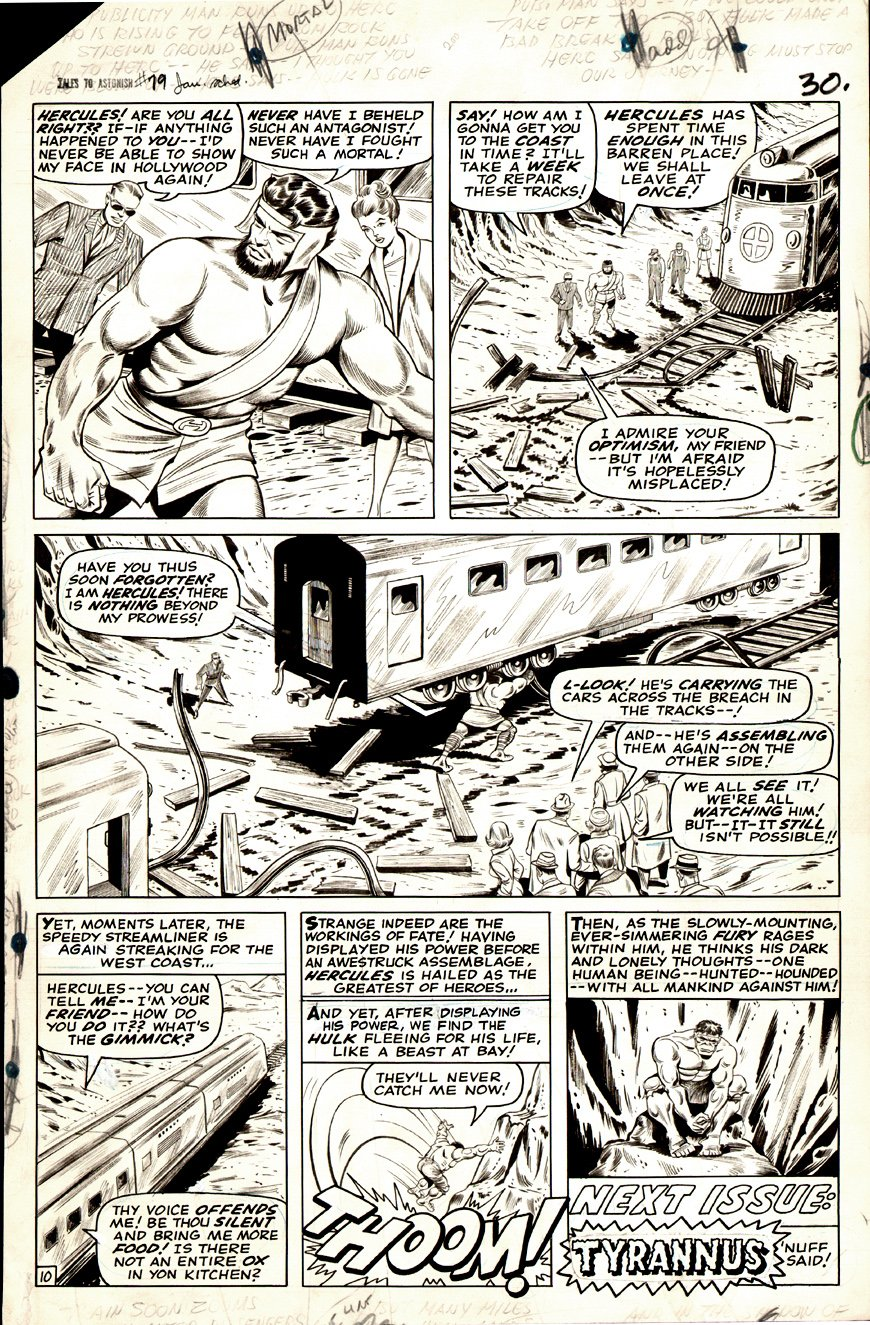 Tales to Astonish #79 p 10 (Large Art) 1966