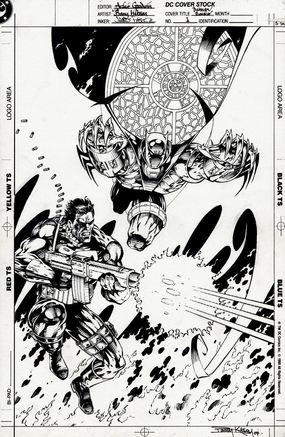 Batman / Punisher #1 Cover (1994)