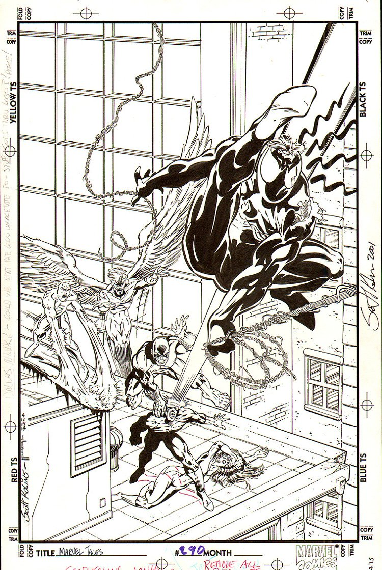 Marvel Tales #290 Unused Cover (1994)
