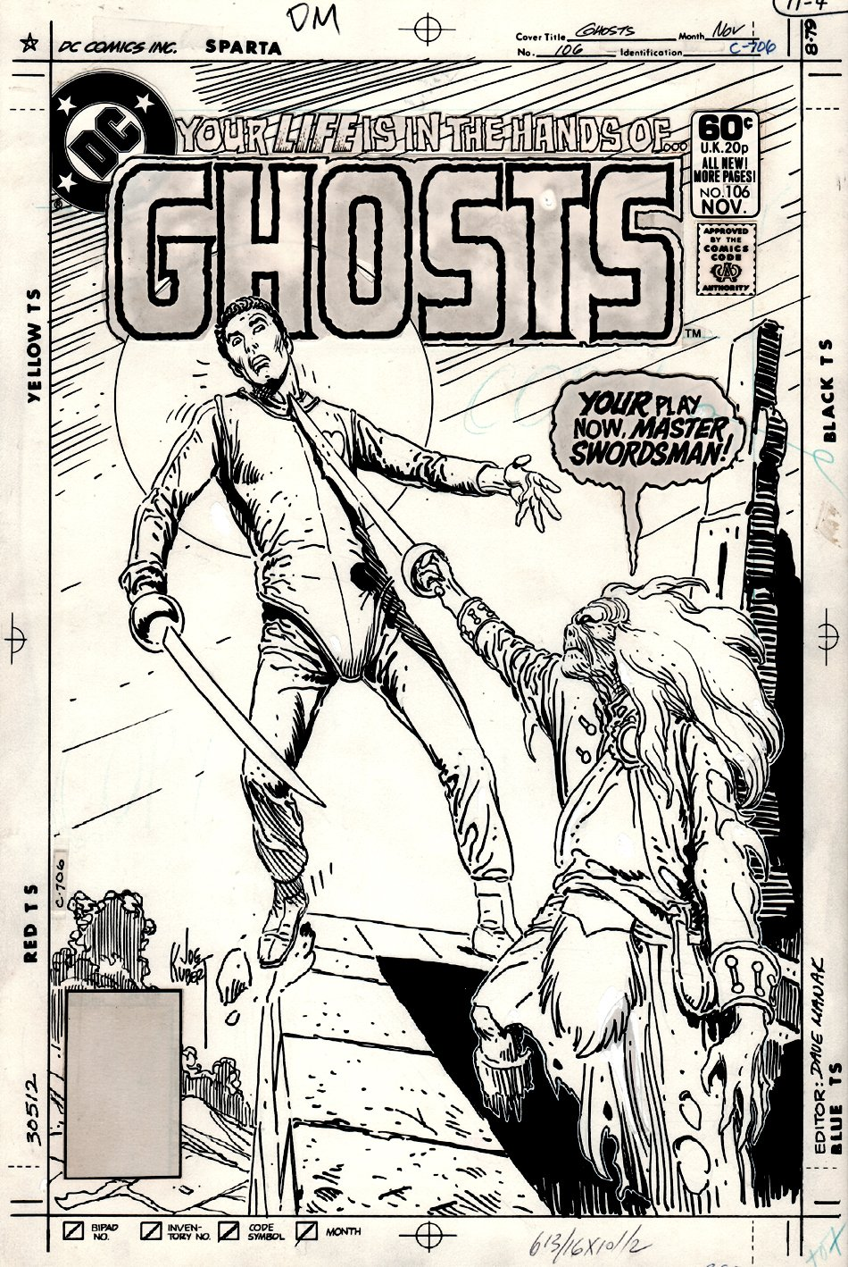 Ghosts #106 Cover (1981)