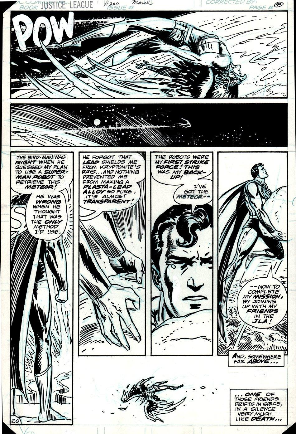 Justice League of America #200 p 50 (1981)