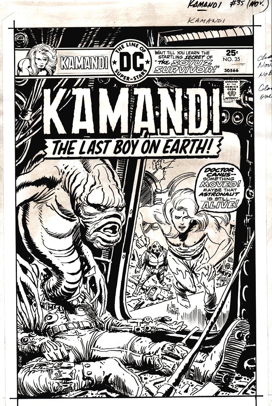 Kamandi #35 Cover (1975)