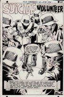 G.I. Combat #133 p 1 SPLASH (1968) Comic Art
