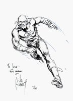 Flash Pinup Comic Art