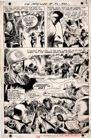 Our Army at War #192 p 4 SPLASH (1967) Comic Art
