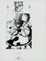 X-Men: Gold #7 Cover Comic Art