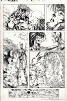WildC.A.T.S #6 p 11 (1993) Comic Art
