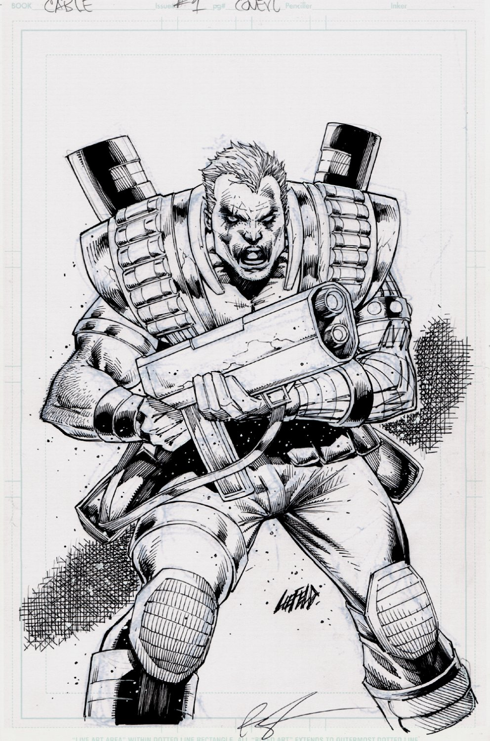 Cable #1 Cover (2016)