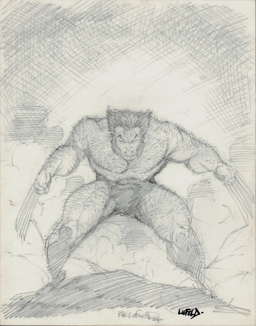 Wolverine Full Body Pinup (1988)