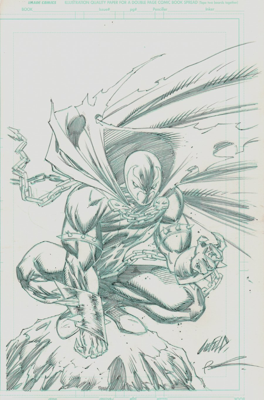 Spawn #200 Cover (2010)