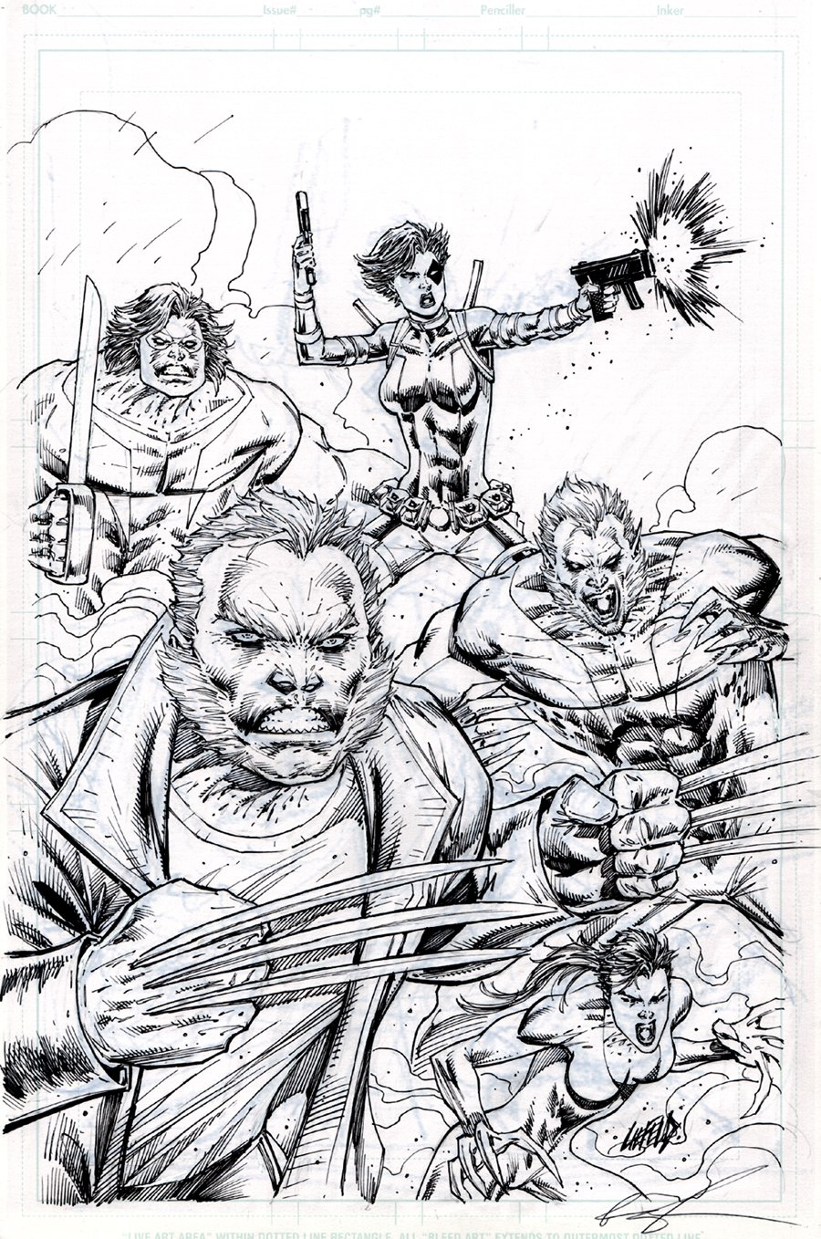 Weapon X #1 Cover (2017)