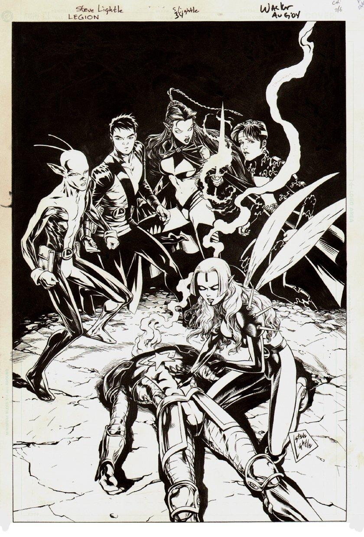 Legion #34 Cover (2004)