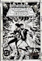 Cosmic Boy #2 Cover (1986) Comic Art