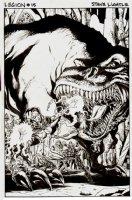 Legion of Super-Heroes #15 Cover (2012) Comic Art