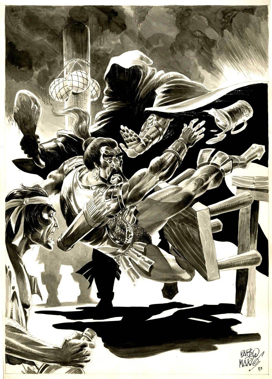 Savage Sword of Conan #88 p 61 SPLASH (1983)