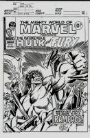 Mighty World of Marvel #265 Cover (1977) Page jm Comic Art