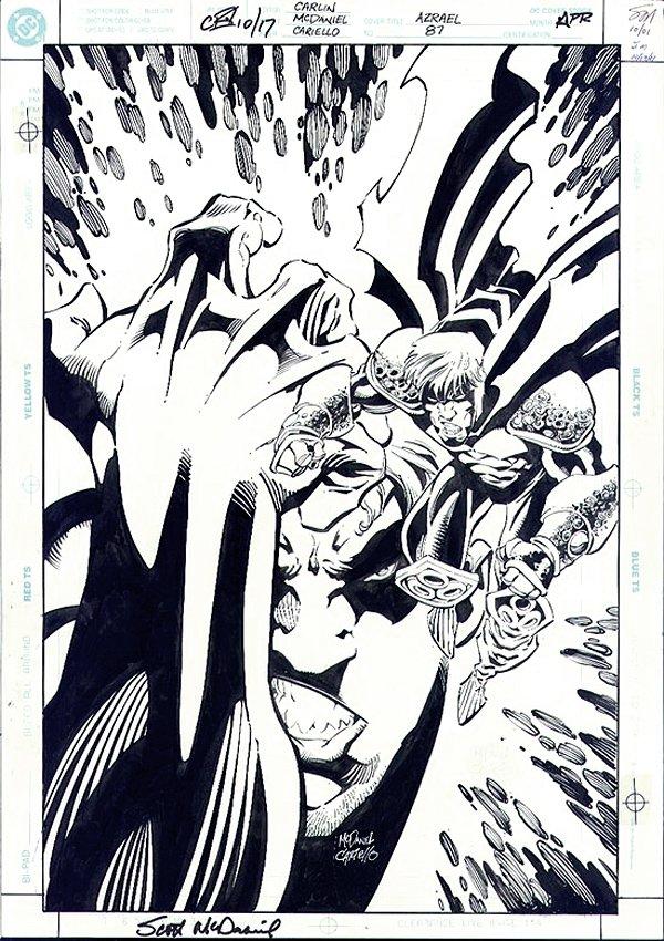 Azrael: Agent of the Bat #87 Cover (2002)
