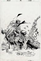 Spawn #26 Cover (EARLIEST McFARLANE SPAWN COVER OFFERED FOR SALE?) 1994) Comic Art