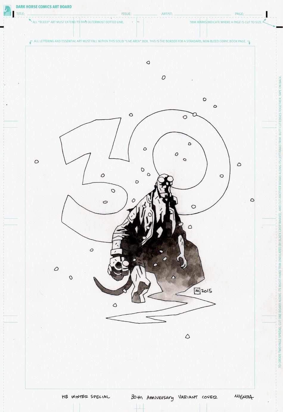 Hellboy Winter Special #1 Cover (2015)