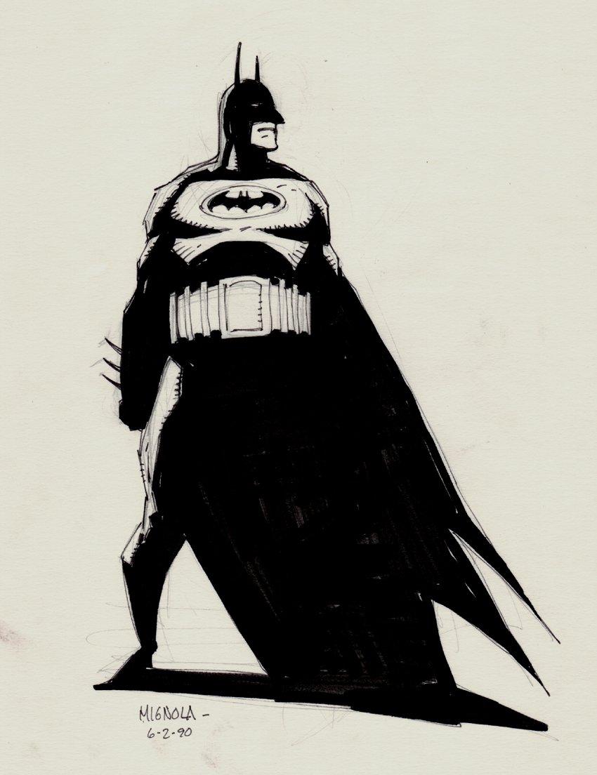 BATMAN Full Body 'EARLY' Pinup (1990)
