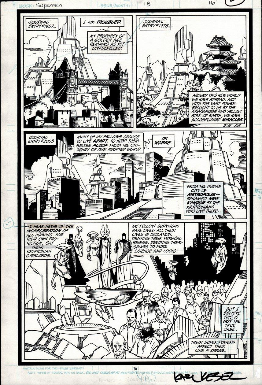 Superman #18 p 16 (1988)