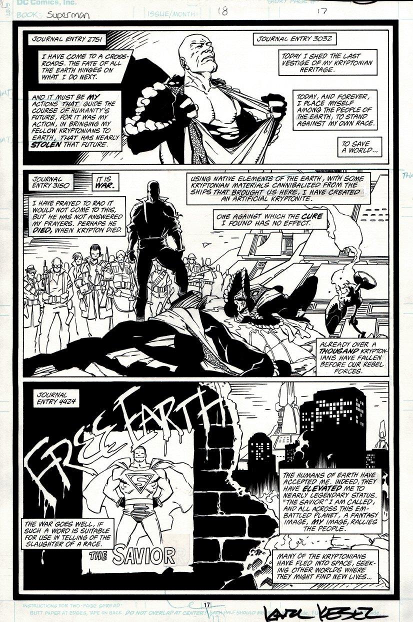 Superman #18 p 17 (1988)