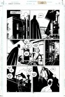 Batman / Hellboy #1 p 19 (1999) Comic Art