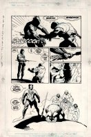 Wolverine: The Jungle Adventure #1 p 20 (Large Art) 1990 Comic Art
