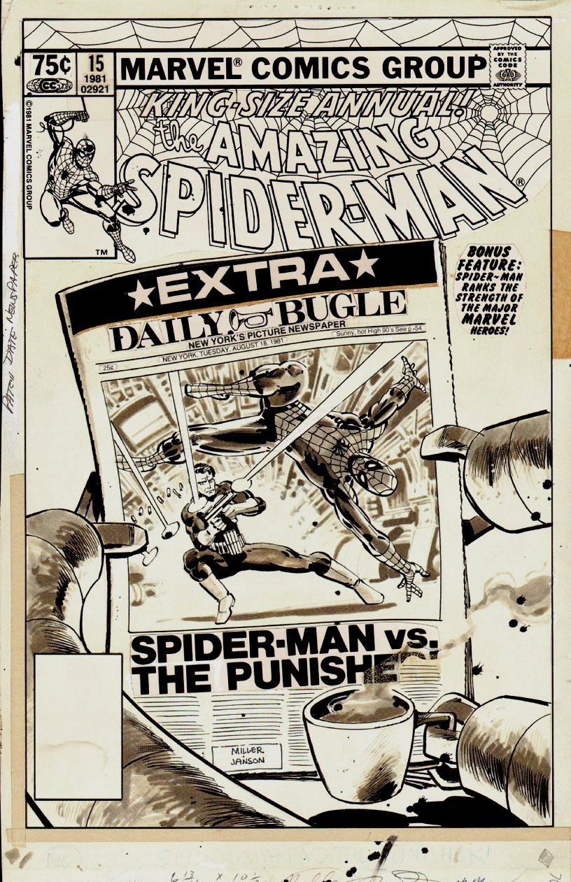 Amazing Spider-Man Annual #15 Cover (1981)