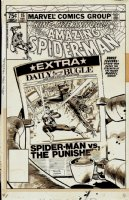Amazing Spider-Man Annual #15 Cover (1981) Comic Art