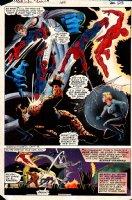 Marvel Team-Up #100 p 28 SPLASH (1980) Comic Art