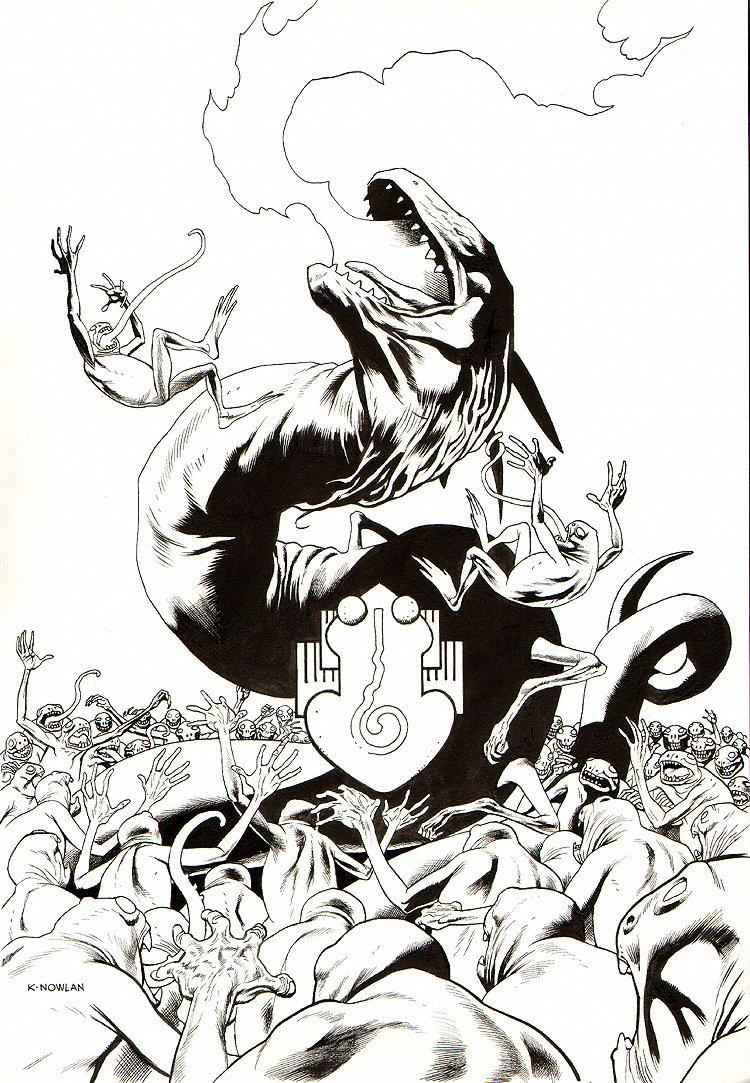 B.P.R.D.: The Black Goddess #4 Cover (2009)