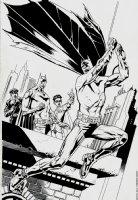 Batman #703 Cover (75th Anniversary Cover ) 2010 Comic Art