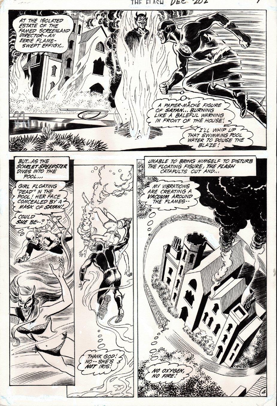 The Flash #202 p 4 (1970)