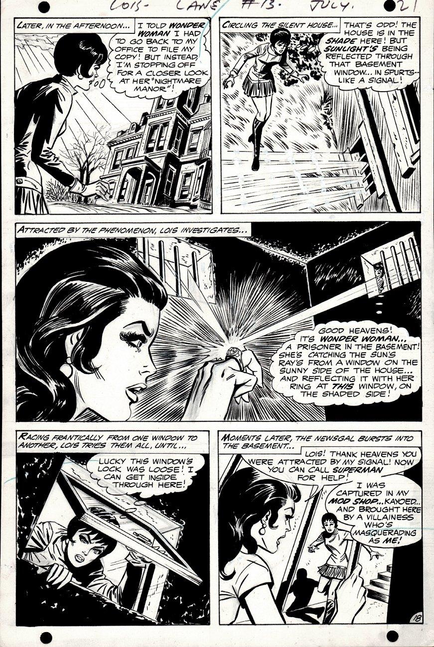Lois Lane #93 p 18 (Wonder Woman & Lois Lane!) 1969