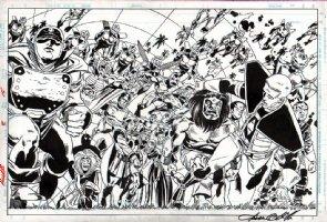 Access Issue 2 Page SPLASH Comic Art