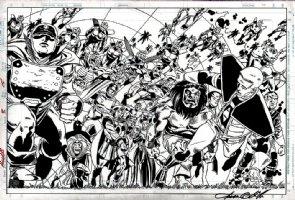 Access #2 SPLASH Comic Art