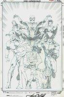 Tutenstein: Spider-Man / X-Men #1 Cover (2004) Comic Art