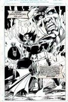 Mephisto / Loki Published Marvel Masterwork Pinup Comic Art