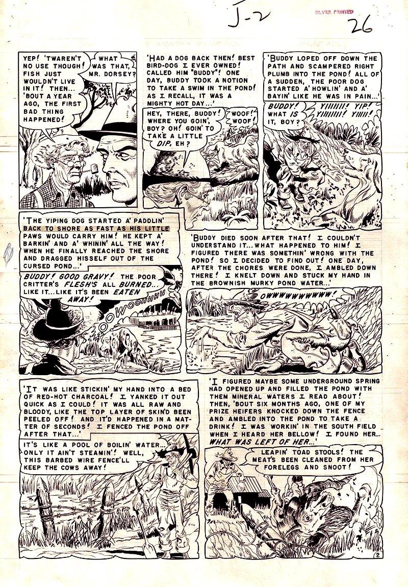 Weird Fantasy #11 p 3 (Large Art) 1952