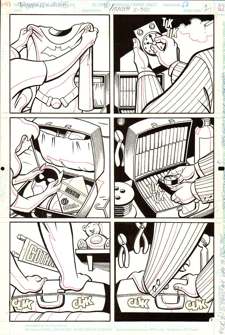Batman Adventures #18 p 1