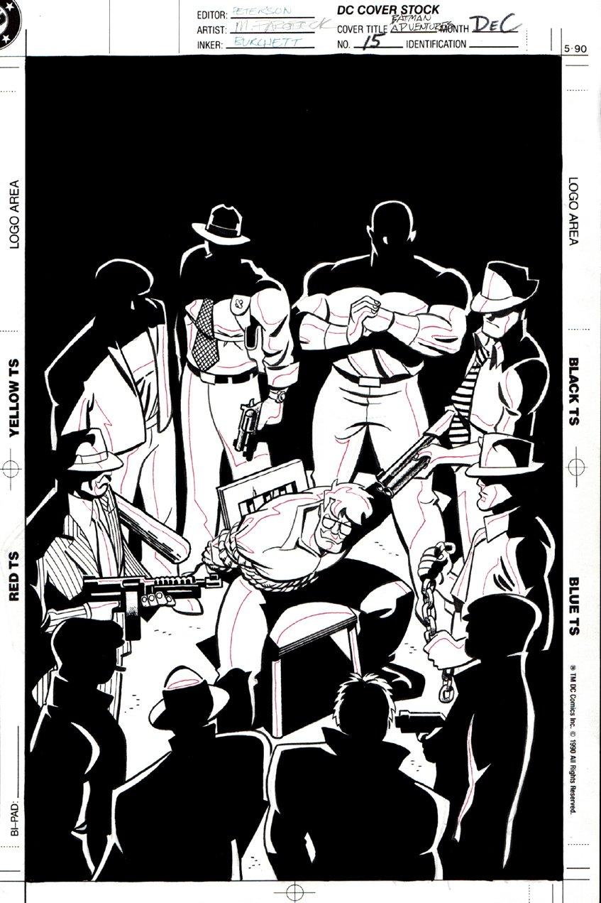Batman Adventures #15 Cover (1993)