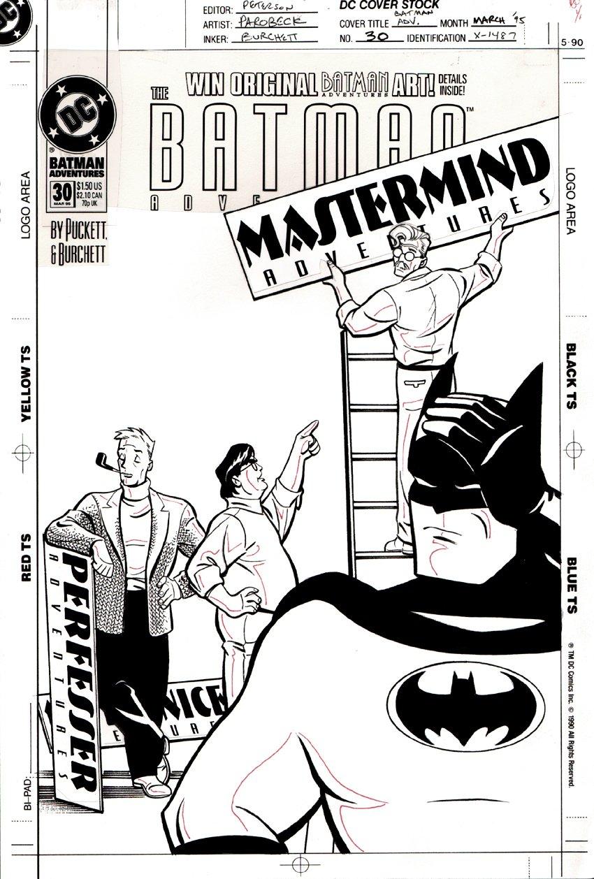 Batman Adventures #30 Cover (1995)
