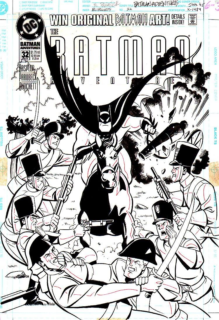 Batman Adventures #32 Cover (1995)