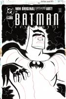 Batman Adventures #34 Cover (1995) Comic Art