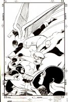 X-Men: The Early Years #7 Cover (1994)  Comic Art