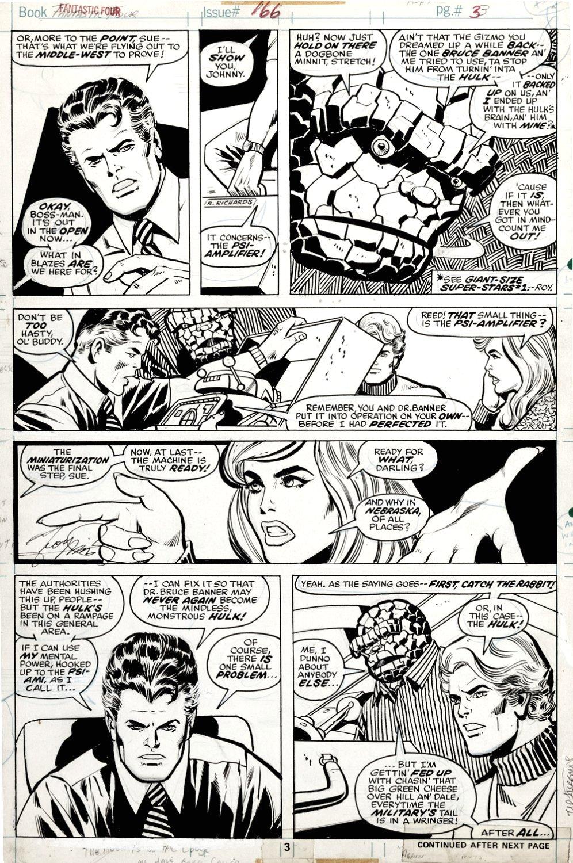 Fantastic Four #166 p 3 (1975)